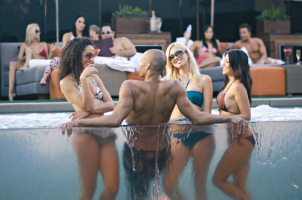 NYE Hotel Pool Pre Party