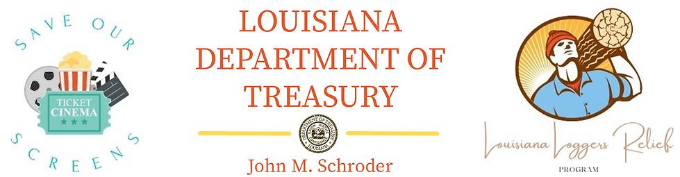 Louisiana State Treasurer logo