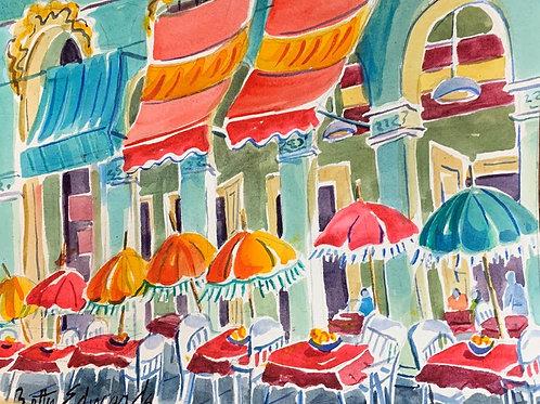 "Vera Cruz Al Fresco"" by Betty Bivins Edwards"