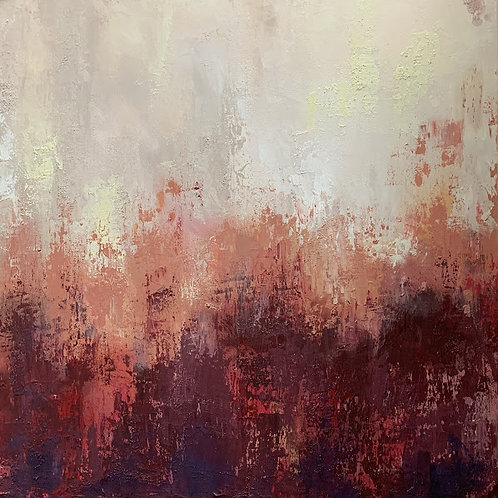 """""""Non Objective in Red"""" by Dianna Cook"""