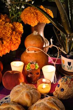 Mexican Day Of The Dead Offering Altar (dia De Muertos).jpg