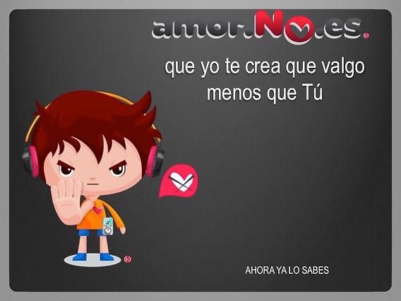 amorNOes
