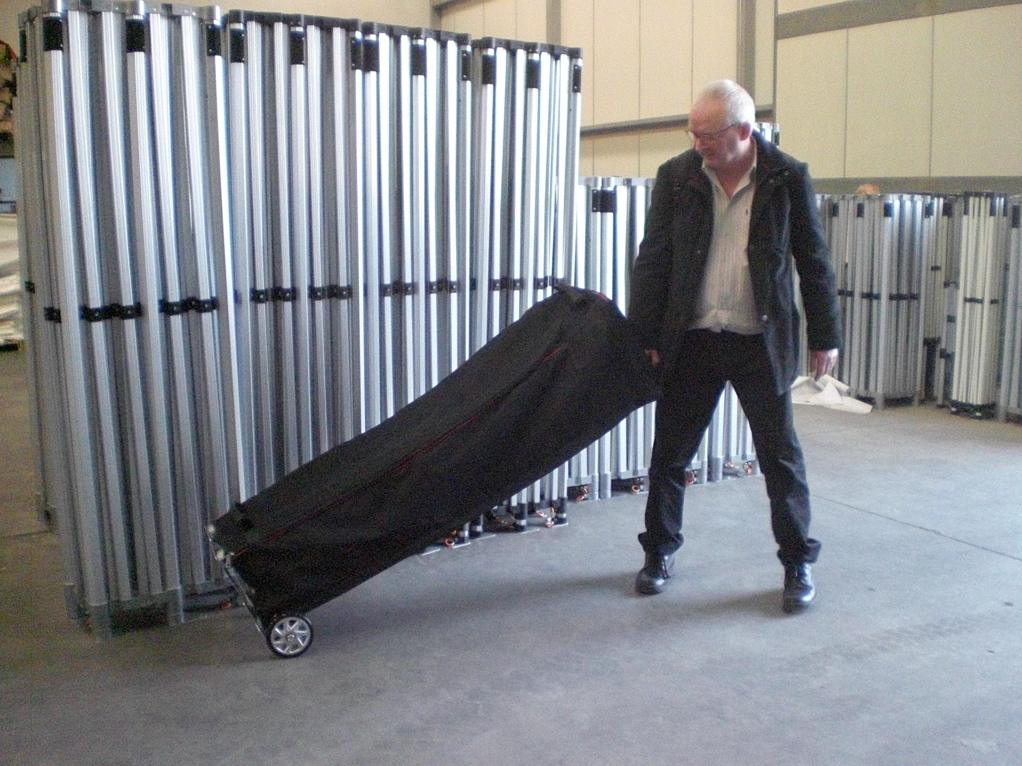 Trillebag til stand-telt