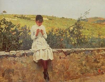 Sulle colline a Settignano, 1885 Telemaco Signorini