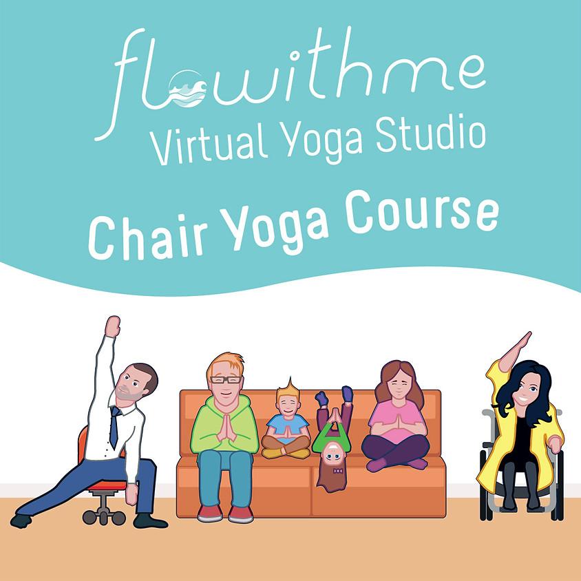 FREE Chair Yoga - Thursdays 12pm BST / 7am EST