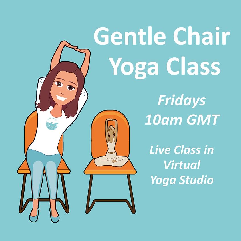 Gentle Chair Yoga Class - Fridays 10am GMT