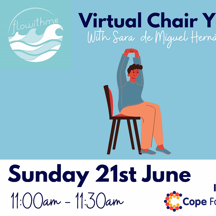 Flowithme Chair Yoga Class in aid of Cope Foundation