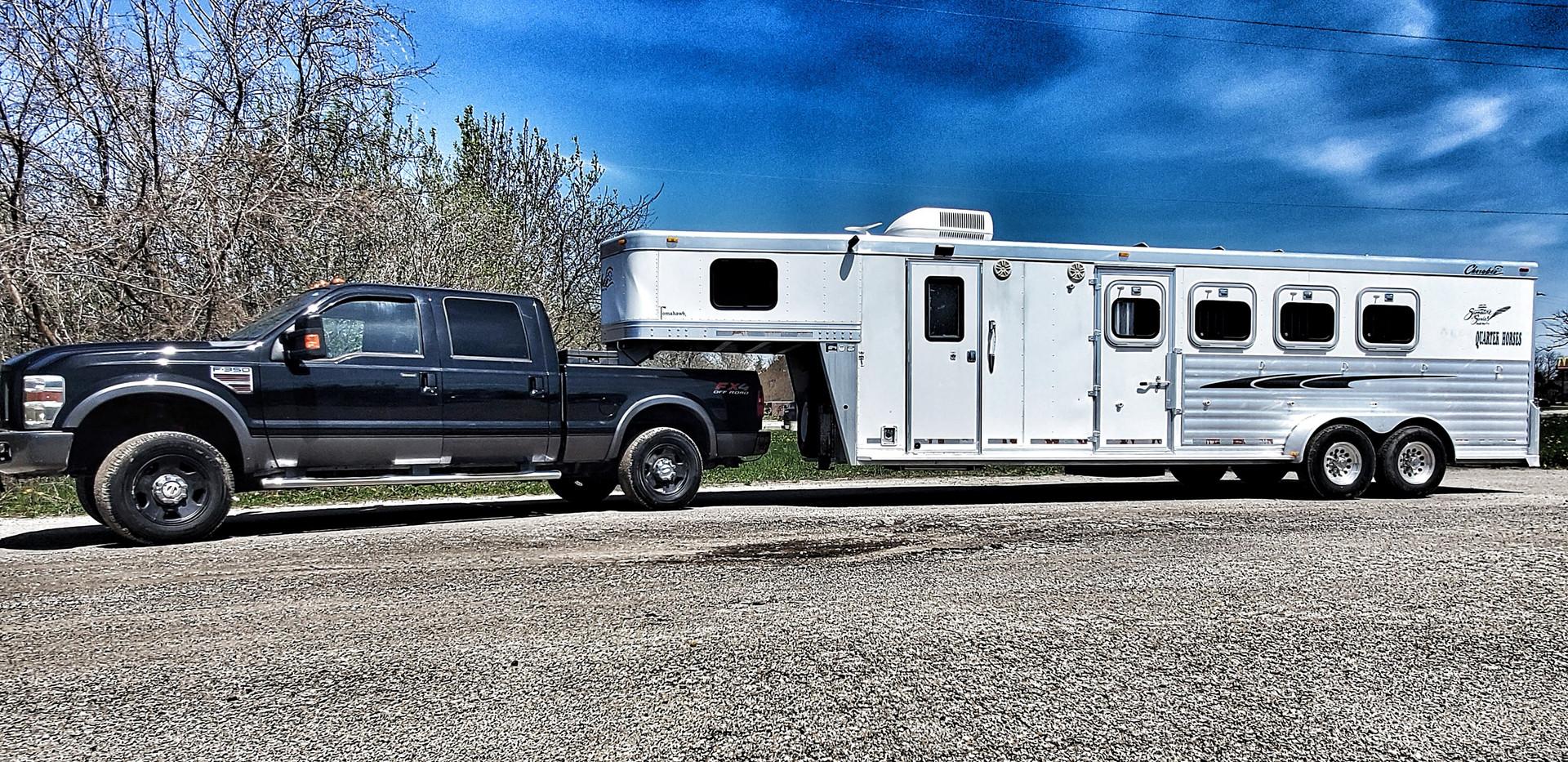 Our 4 Horse LQ rig