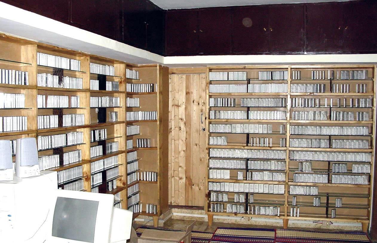 Lib-cassette section