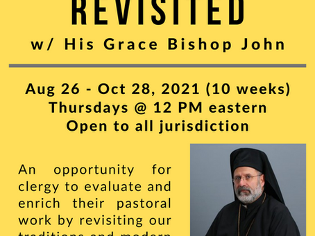 Bp. John Returning This Fall