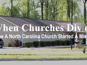 Departments Don't  Start Churches