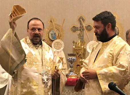 Adam Roberts Ordination