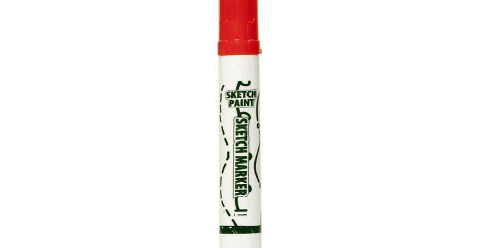 MAG1008 - Sketch Paint Marker Pen - Red