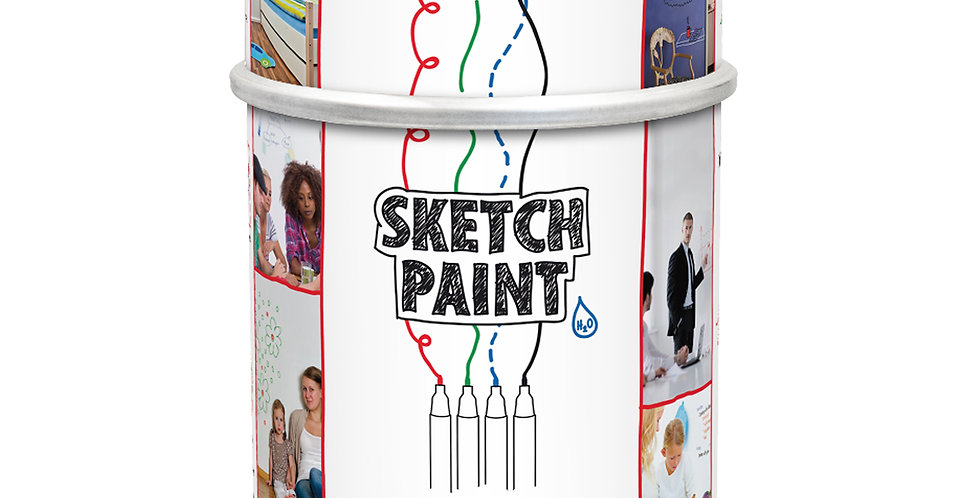 MAG1004 - Sketch Paint 1.0 Litre - Gloss White