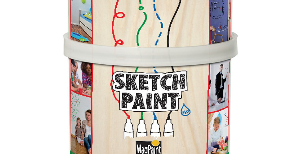 MAG1001 - Sketch Paint 500ml - Gloss Transparent