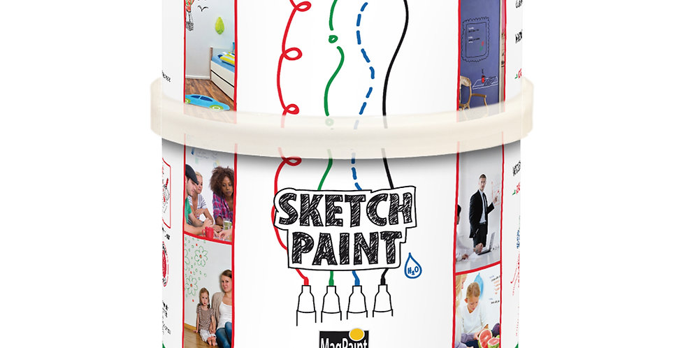 MAG1002 - Sketch Paint 500ml - Gloss White