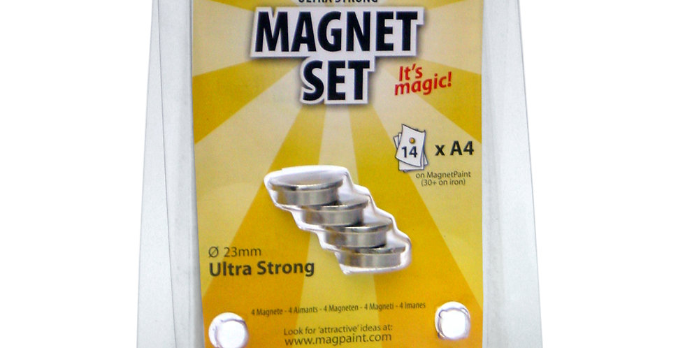 MAG5002 Ultra Strong Magnet set – 23mm