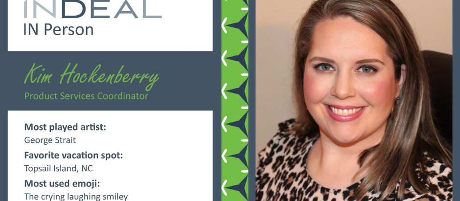 INDEAL IN Person: Kim Hockenberry