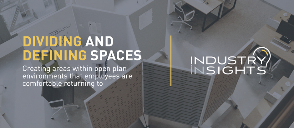Dividing and Defining Spaces within Open Plan Environments