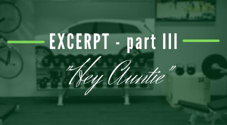"""""""Hey Auntie"""" (excerpt - III)"""
