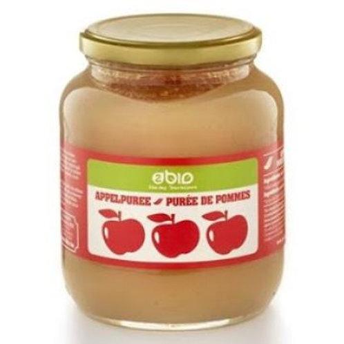 Compote de pommes au sirop d'agave