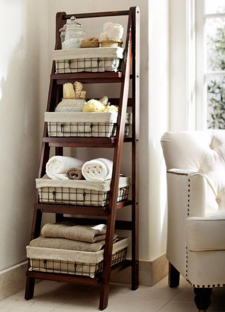 Top 3 creative storage solutions for small bathrooms - Part Two