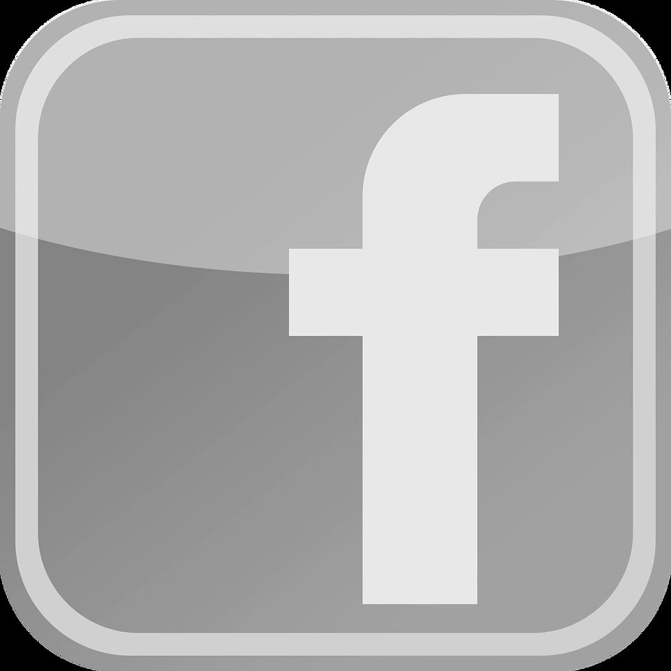 Facebook Icon Black & White