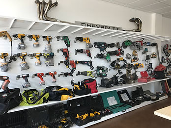 lots of power tools