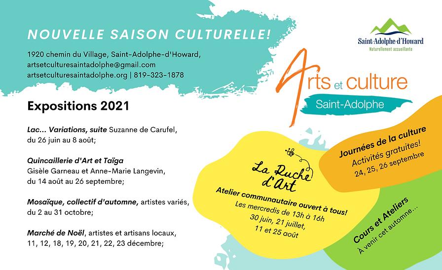 2021 saison culturelle Arts et culture.p