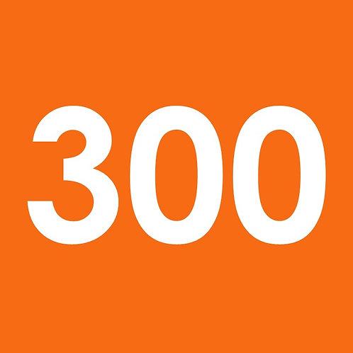 $300 Contribution