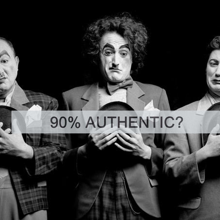 90% AUTHENTIC... MAYBE 85%