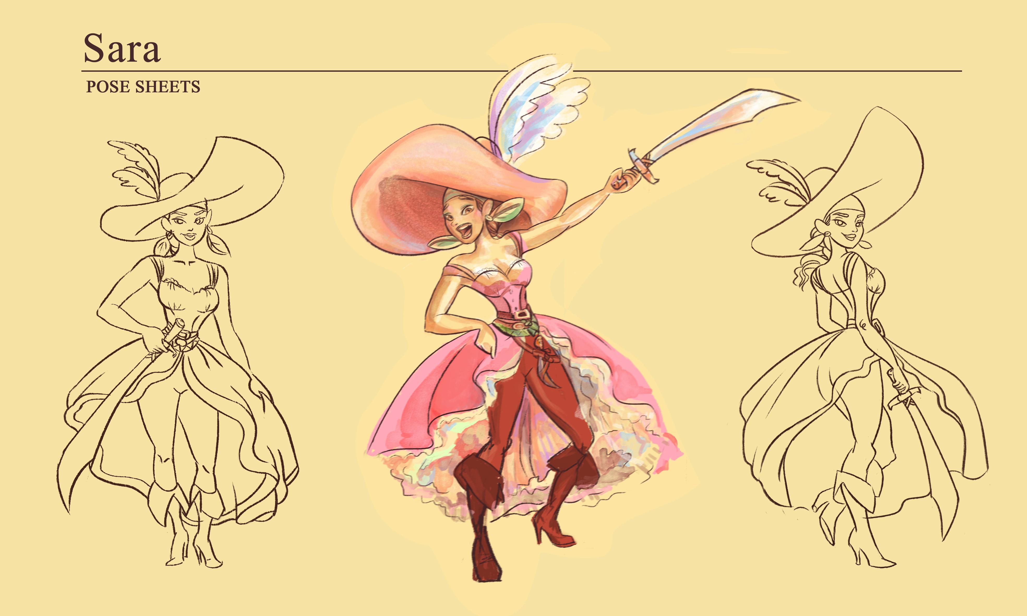 Sara - A pirata
