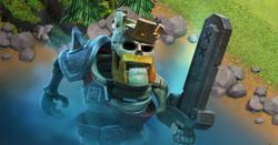 Rei esqueleto - Clash of clans