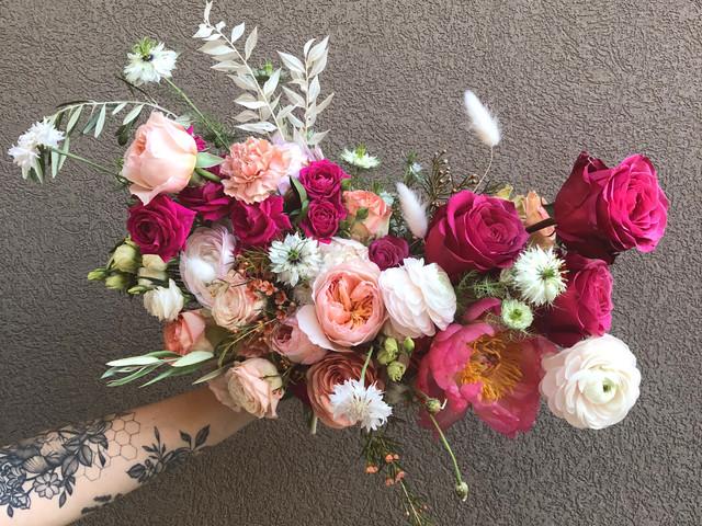 bridal bouquet.  wedding flowers.