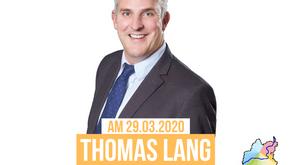 Bunte Liste Lauf unterstützt Thomas Lang