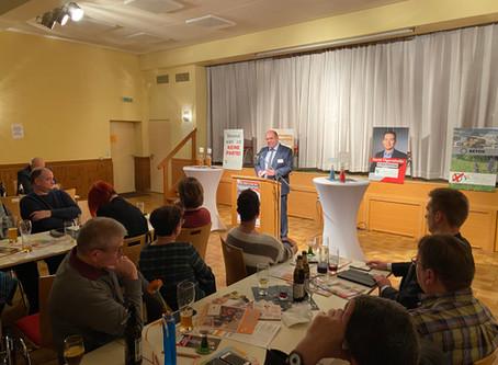 Wahlkampfauftakt Bunte Liste & Bürgerinitiative Rückersdorf