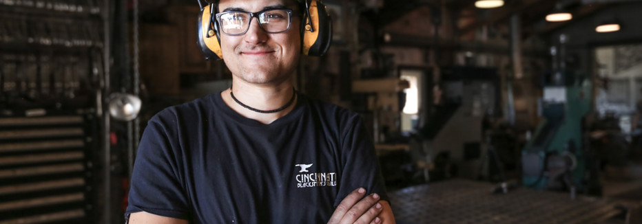 Otto: Head blacksmith