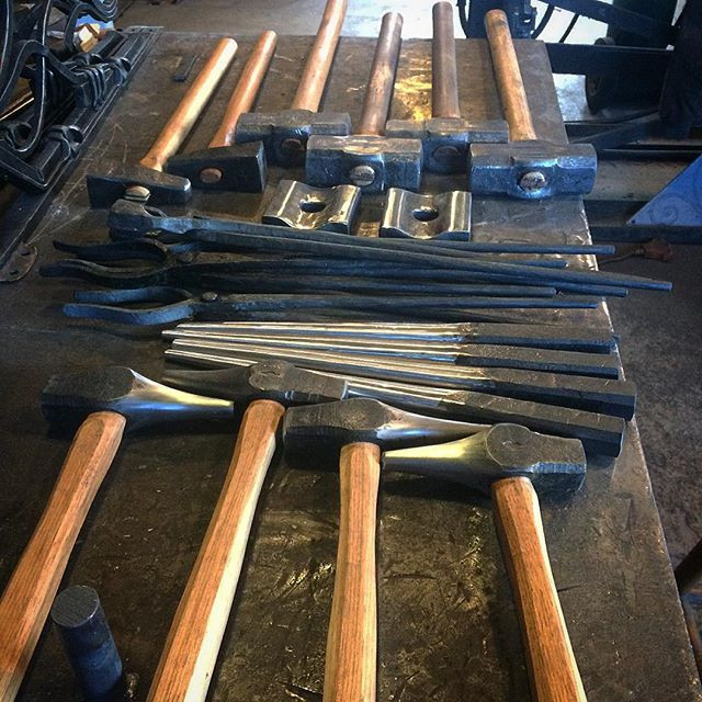 Hammer making tools for Forge With Inten