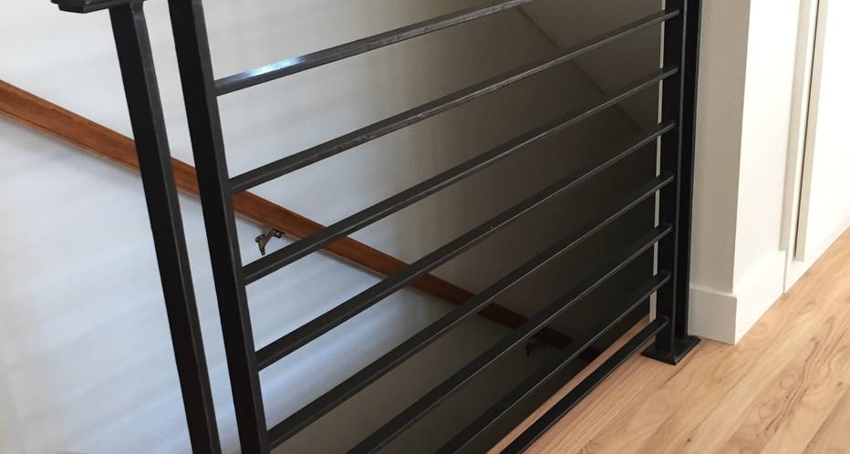 Textured railing