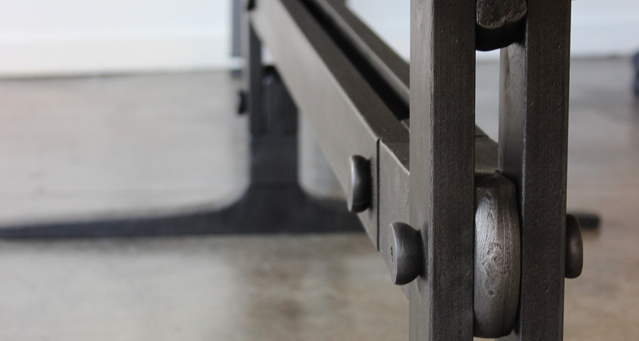 Industrial Conference Table Details