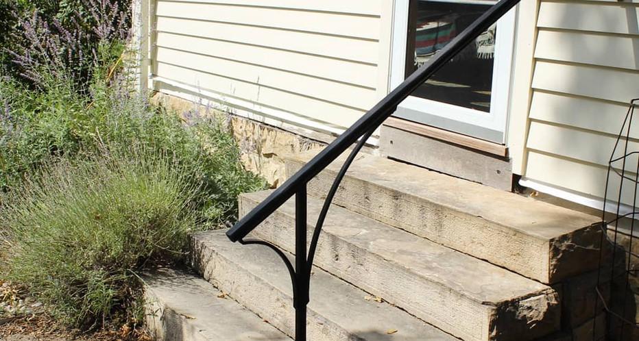 """""""Arch"""" Garden Railing"""