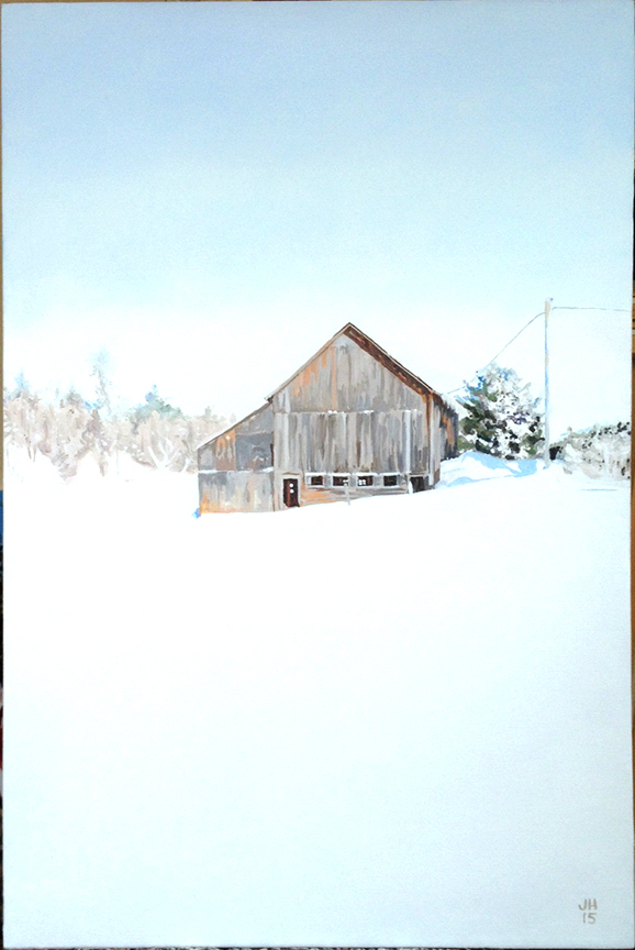Snow Barn 1, 2015