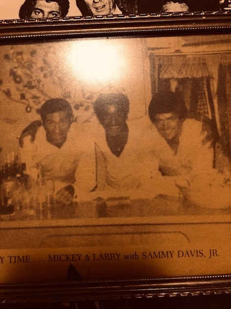 Mickey & Larry with Sammy