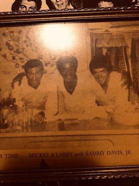Mickey & Larry with Sammy