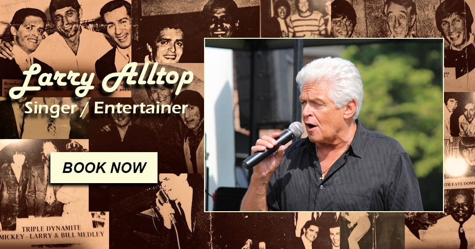 Larry Alltop | Singer & Entertainer - Book Now