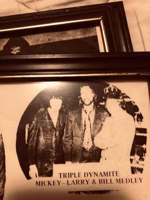 Mickey & Larry with Broadway Joe Nemath