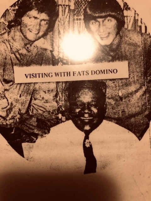 Mickey & Larry with Fats Domino