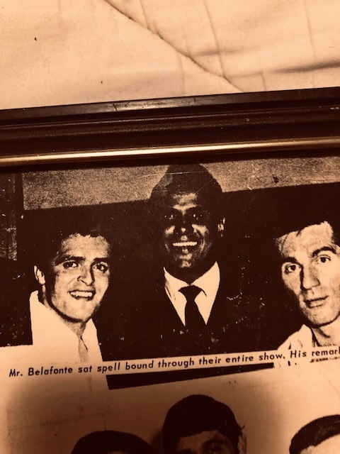 Mickey & Larry with Harry Belafonte