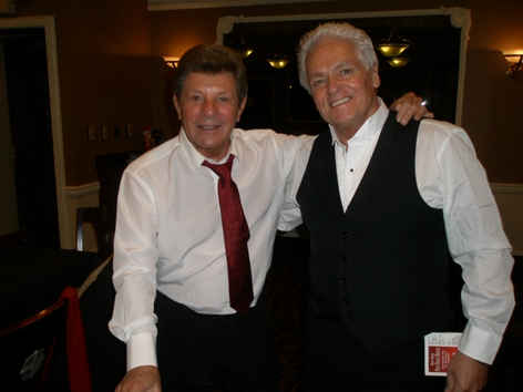 Frankie Avalon with Larry