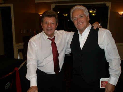 Frankie Avalon with Larry